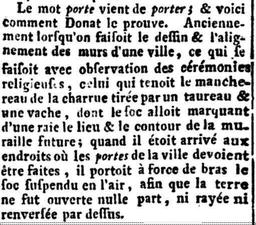 Encyclopédie, ou Dictionnaire raisonné des sciences, des arts et des métiers» 1780 года издания (том 26, стр, 876)