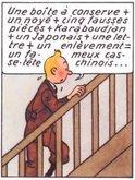 casse-tête в контесте — в реплике Tintin'а